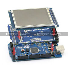 "SainSmart Mega2560 + 3.2"" TFT Touch LCD + SD Reader + TFT Shield For Arduino DE."