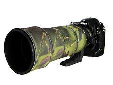 SIGMA 120 300mm F2.8 Non OS Neoprene Lente Protezione Mimetico Cappotto Verde Coperchio Nero