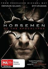 F23 BRAND NEW SEALED The Horsemen Of The Apocalypse Dennis Quaid (DVD, 2010) R4