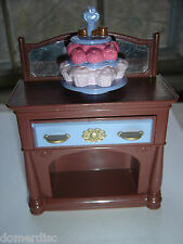 Fisher Price Dollhouse Cupcake Buffet Drawer Opens Things Inside Toy 2005