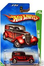 2009 Hot Wheels Treasure Hunt #48 '34 Ford T-Hunt card