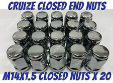16 x Ruota in Lega Tuner Slimline Nuts /& 4 dadi di bloccaggio adattarsi LEXUS LX450 Aristo