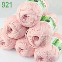 6Skeins X 50g Baby Natural Smooth Soft Bamboo Cotton Knitting Yarn Knitwear 21