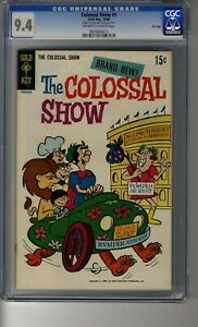 Colossal Show # 1 - CGC 9.4 Off-White Pages - Random House Archive File Copy