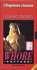 Whore - VHS EDITORIALE L'ESPRESSO USATA BUONE CONDIZIONI