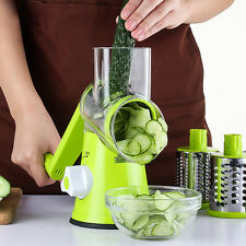 Fruit Vegetable Round Slicer Julienne Carrot Grater Cheese Cutter Kitchen Tool