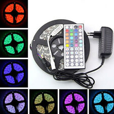 3528 RGB 300 Led SMD Flexible Light Strip Lamp&44 key IR&12V 2A Power Supply .~