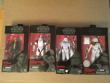 The Force Awakens, Black Series 6 Inch Figures.