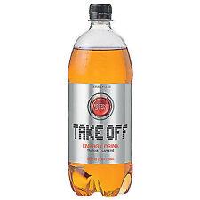 6 bottiglie a 1,0l take off energia DRINK bevanda Takeoff Inc. cauzione Energy