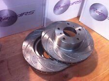 Slotted Disc Brake Rotors to suit Toyota Prado GRJ120R GRJ120 KD150  2003-2009
