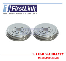 Vauxhall Corsa D 1.0 1.2 1.4 1.3 Cdti Pair Rear Brake Drums 3 Door 2006-203.2mm