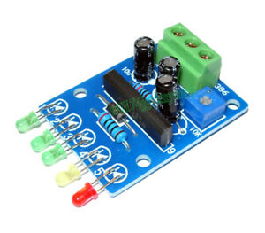 KA2284 Audio Level Indicator VU Meter 5 LED Power Level Display Board DC 5V~16V