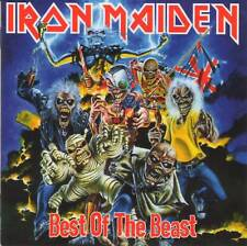 IRON MAIDEN - BEST OF THE BEAST (1996) 2CD Compilation Heavy Metal+FREE GIFT