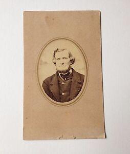 Antique CDV Photo Gibson Susquehanna County PA Cabinet Card G O Sweet