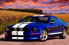 2005-2009 Mustang 67 GT SH-GT GT-R Style Hood Ram Air Functional - 1pc Body Kit