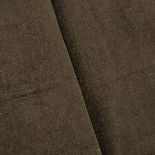 Dark Choco Brown Textured Chenille Home Decorating Fabric, Fabric By The Yard
