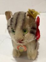 Steiff 10cm Susi cat sitting position ean 3310 or 3310,00 excellent all id's 195
