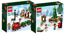 Lego 40262 Christmas Mini Train Ride 2017 Holiday Seasonal Set