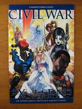 Wow! CIVIL WAR: X-MEN #1 **SIGNED BY MICHAEL TURNER!** COA!