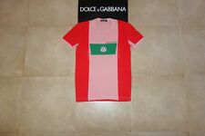 Dolce&Gabbana Black Label SPORT SOCCER CALCIO ITALIA 10 T-shirt 50 IT (S-M),RARE