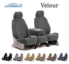 Coverking Custom Seat Covers Velour 3 Row Set - 7 Color Options