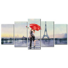 Canvas Prints Paintings Reproduction Wall Art Home Decor Poster Love in Paris