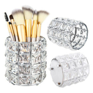 UK Make Up Brush Storage Bucket Pens Pencils Holder Pots Desktop Organize Decor
