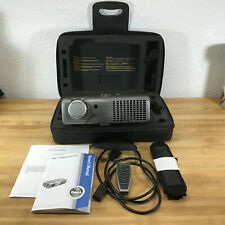 Dell 2300Mp DLP 1080p Projector Home Movie or Office - Case Cables Remote Tested