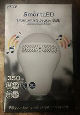 TCP Smart LED Bluetooth Speaker Bulb ES E27 12W = 40W Audio Music. Brand New.