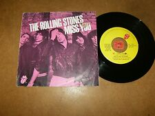 THE ROLLING STONES - MISS YOU - FARAWAY EYES   / LISTEN