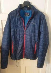 Patagonia Mens Nano Puff Primaloft Jacket Blue Size MFREE POST
