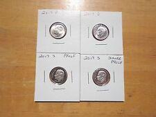 2017 P D S S Roosevelt Dime Silver & Clad Proof PDSS 4 Coin Set Lot