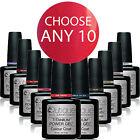 QUTIQUE Gel Nail Polish Colour Pack/Kit/Set -ANY 10 Colours of your choice