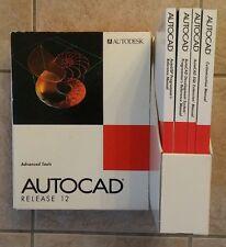 AUTODESK Autocad Release 12 Advanced Tools Books AutoLisp SQL