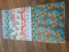 Vintage Retro Christmas Wrapping Paper 8 Designs Decorations