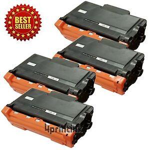 4pk TN850 TN-850 Toner Cartridge For Brother TN820 HL-L6200DW MFC-L5800DW