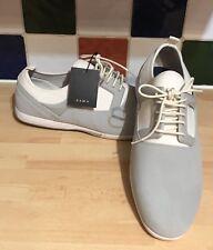 Zara Man Grey White Trainers Light Plimsoles UK 8 EU 42 BNWT