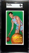 1970-71 Topps Basketball #30 Lou Hudson Hawks SGC 9
