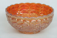 Imperial Grape Style Marigold Carnival Glass Berry Bowl Dish 1381B