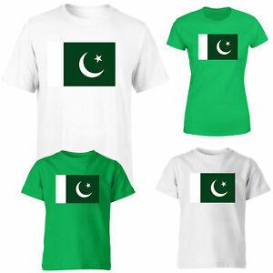 Pakistan Indenpendance Day Unisex Kids T Shirt Happy 14th August Tee