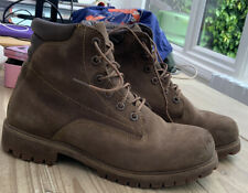 Timberland  Waterproof Men Boots Size  8( Brown Nubuck) Used