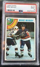 1978 Topps Hockey HOF Mike Bossy New York Islanders ROOKIE RC #115 PSA 9 MINT