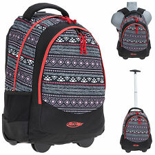Trolley Rucksack ROLLY Schultrolley Trolly Rucksack Bag 0145 ETHNO SCH +Flasche