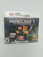 Minecraft: New Nintendo 3DS Edition Video Game With Case and Insert!