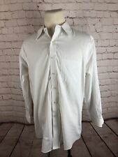 Brooks Brothers Men's White Solid Cotton Dress Shirt 16.5 32/33 $98