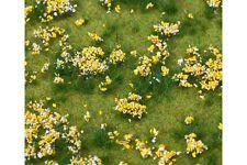Faller 180467 HO 1/87 Segment de paysage PREMIUM, Prairie fleurie, multicolore