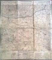 CART.GEOGRAF.DI GUERRA - CHIUSAFORTE - F°. 14 DELLA CARTA D'ITALIA - N. 26
