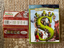 Shrek: The Whole Story (Blu-ray Disc, 2010, 4-Disc Set) Region Free Mint