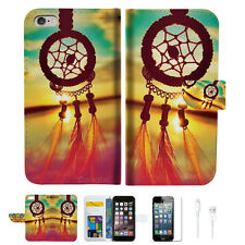 Dream Catcher Wallet  Case Cover For Apple iPhone 6 6S -- A008