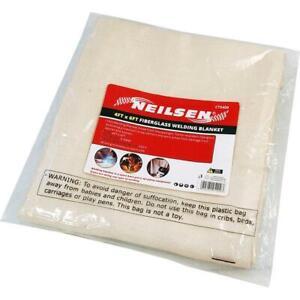 Welding Blanket Heat Treated Fiberglass Plumbing Blow Soldering 4ftx6ft 5409
